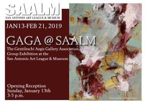 GAGA @ SAALM Exhibit Opening