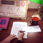 Pony Express Love Letter Calligraphy Workshop