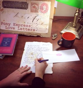 Pony Express Love Letter Calligraphy Workshop