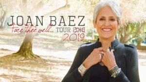 Joan Baez: Fare Thee Well... Tour 2019