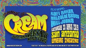 The Music of Cream: 50th Anniversary World Tour