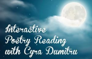 Interactive Poetry Reading with Cyra Dumitru