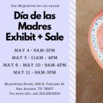 MujerArtes Día de las Madres/Mother's Day Exhibit & Sale