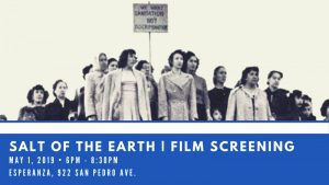 Salt of the Earth Film Screening