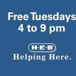 H-E-B Free Tuesdays at SAMA