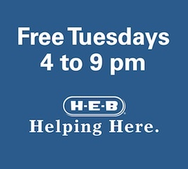 H-E-B Free Tuesdays at SAMA
