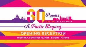 30 Poems for the Tricentennial: A Poetic Legacy
