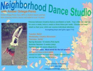 Neighborhood Dance School (NDS)
